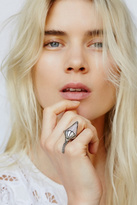 Bohobo Collective x Free People Womens ARROW ROSE FRINGE RING