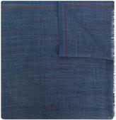 Loro Piana frayed-edge scarf - men - Silk/Cashmere - One Size