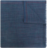 Loro Piana frayed-edge scarf