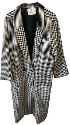 Carolina Ritzler Black Cotton Coats