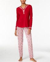 Lucky Brand Jersey Pajama Set