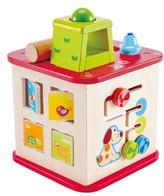 Hape Infant Pepe & Friends Friendship Activity Cube
