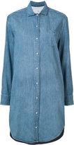 Rag & Bone Jean - denim shirt dress - women - Silk/Cotton - XXS