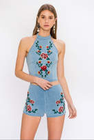 Flying Tomato Floral Halter Top