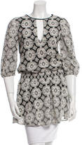 Alice + Olivia Lace Patterned Tunic
