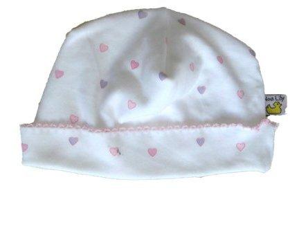 Noa Lily Cap, Pink Hearts