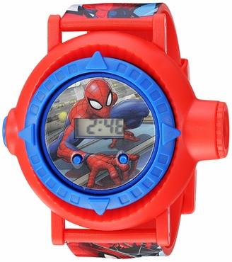 Spiderman Spider Man Boys' Quartz Watch with Plastic Strap