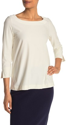 Eileen Fisher 3/4 Sleeve Boxy T-Shirt