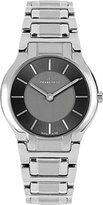 Pierre Petit Women's P-799E Serie Laval Black and Silver Dial Stainless-Steel Bracelet Watch