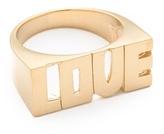 Jennifer Zeuner Jewelry Block Love Ring