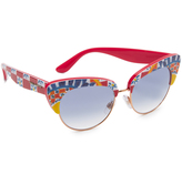 Dolce & Gabbana Mambo Cat Eye Sunglasses