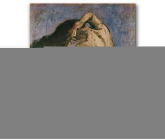"Cezanne Paul 'Woman Combing her Hair' Canvas Art - 24"" x 24"""