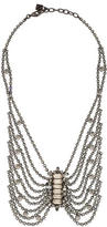 Dannijo Draped Crystal Statement Necklace
