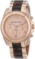 Michael Kors Women's Blair MK5859 Rose- Stainless-Steel Quartz Watch