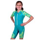 Nozone Clothing Company Nozone Kids Ultimate One-Piece Sun Protective UPF 50+ Swimsuit in Fuchsia/Brandie