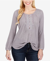 Lucky Brand Ribbed Henley Top