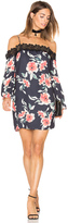 Eight Sixty Whispering Floral Dress
