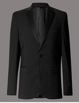 Autograph Big & Tall Black Tailored Jacket