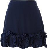 See by Chloe ruffled mini skirt - women - Silk/Viscose - 36
