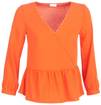 Vila VIROSSIE women's Blouse in Orange