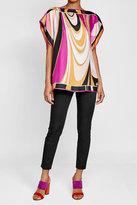 Emilio Pucci Printed Silk Tunic
