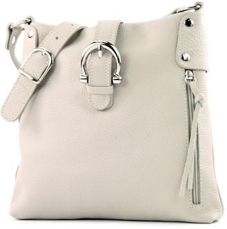 Modamoda De Ital. Leather Case Shoulder Bag Girl Messenger Shoulder Bag Citybag T04