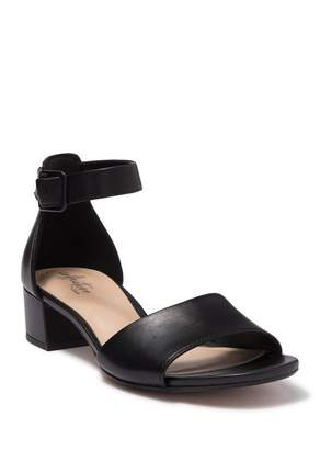 Clarks Elisa Dedra Stacked Sandal - Wide Width Available