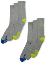 New Balance 6-Pack Performance Crew Socks