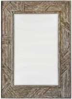 Uttermost 31.5-Inch x 43.5-Inch Fortuo Mirror in Mahogany