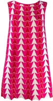 Valenti Antonino arrow pattern dress