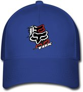 DEBBIE Unisex Fox Racing Logo Baseball Caps Hat