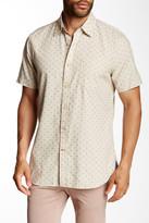 Nautica Slim Fit Chambray Dobby Printed Shirt