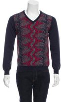 Michael Bastian Abstract Wool Sweater w/ Tags