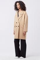 Diane von Furstenberg Roma Cocoon Coat
