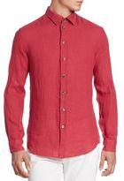 Armani Collezioni Linen Sport Shirt