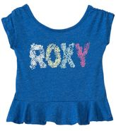 Roxy Girls' Sea S/S Ruffled Tee (2T6X) - 8135502