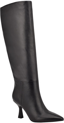 Marc Fisher Hallie Leather Knee Boots