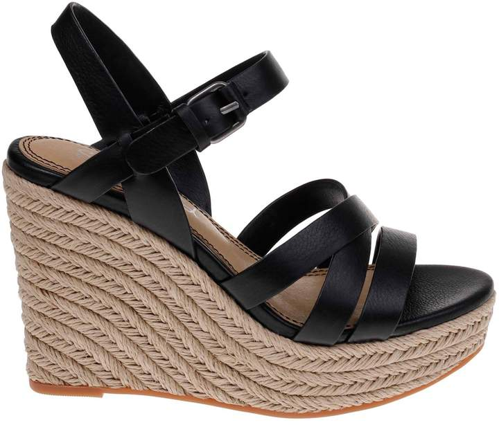 81c55e0aac2 Billie Leather Espadrille Wedge Sandals