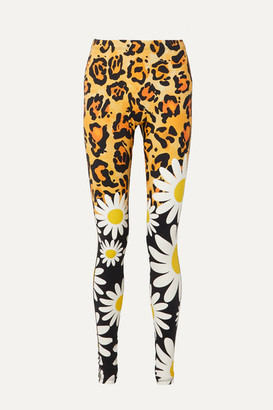 Moncler Genius - 0 Richard Quinn Printed Stretch Leggings - Leopard print