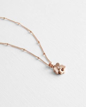 Ted Baker HAMLYI Heart flower pendant