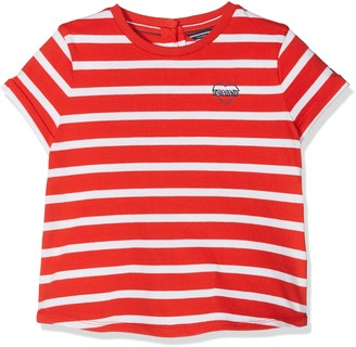 Tommy Hilfiger Baby Girls' AME Striped Cn Knit S/s T-Shirt