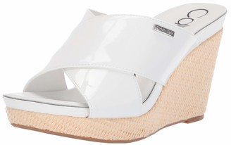 Calvin Klein Women's JACOLYN Wedge Sandal