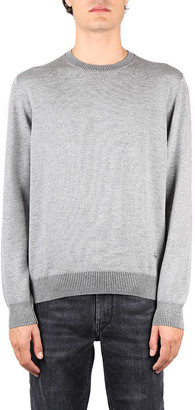 Fay Grey Virgin Wool Sweater
