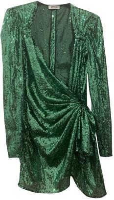 ATTICO Green Glitter Dresses