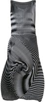 Issey Miyake 'Optical 1' dress - women - Triacetate/Polyester/Polyurethane - 2