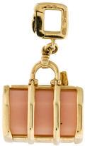 Louis Vuitton 18K Rose Quartz Bag Charm