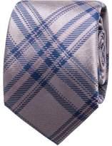 Geoffrey Beene Plaid Check Tie