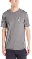 Rip Curl Men's Aggrolite Surf Shirt Short Sleeve Rashguard