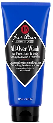 Jack Black All-Over Wash For Face, Hair And Body 295 Ml