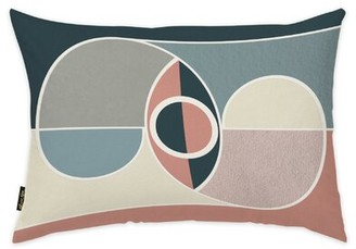 Oliver Gal Abstract Lumbar Pillow